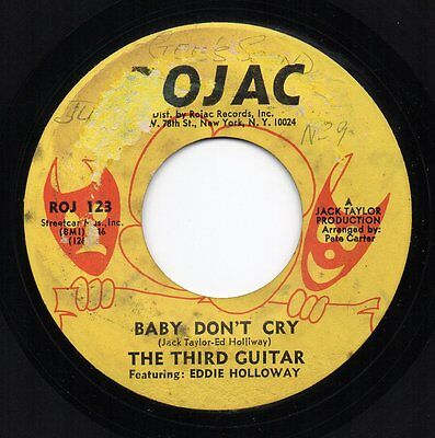 THE THIRD GUITAR 'Baby Don't Cry' US Rojac DJ Shadow Funk/Soul/Breaks 45 HEAR!!