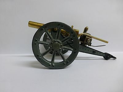 Vintage Tin Military Toy Cannon Made By Marklin