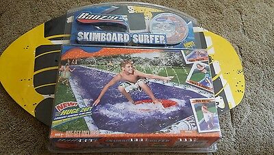 Banzai Skimboard Slide Surfer Set Summer Outside Water Play Toy NEW
