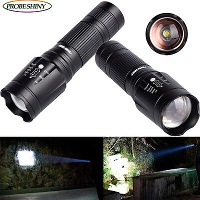 PROBE SHINY 3000LM CREE XML T6 LED Taschenlampen 5 Mode Fackel Lampe Zoom SALe