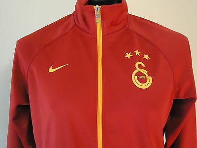 Galatasaray Official Licensed Training Jacket Med Red New
