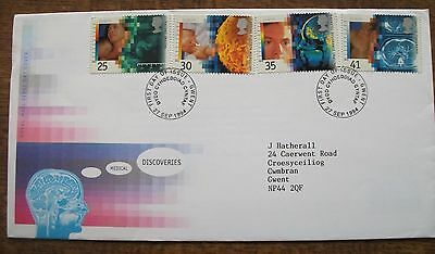 GB 1994 Europa Medical Discoveries First Day Cover