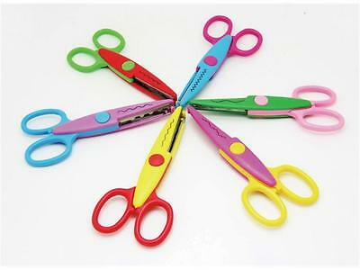 Craft Scissors 6 Different Patterns Stainless Steel Blade for Decortive Borders