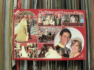 The Prince & Princess Of Wales.1981 Audio Postcard/flexi-Disc. Good Investment!!