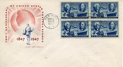 US FDC #947 Stamp Centenary, House Of Farnam (0309)