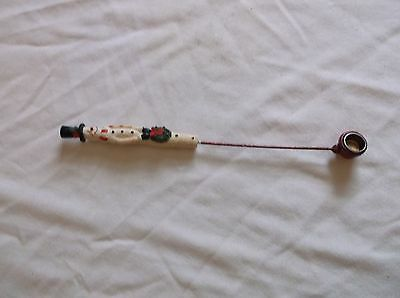 Cute Resin Snowman Candle Snuffer