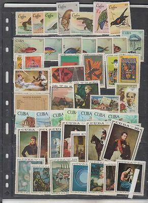 oldhal-Quba-Lot of Mint Never Hinged Sets from 1969