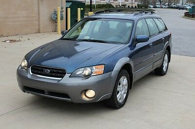 2005 Subaru Outback OUTBACK LIMITED 2005 SUBARU LEGACY OUTBACK LIMITED 5 SPEED MANUAL LOW MILES NO RESERVE AUCTION
