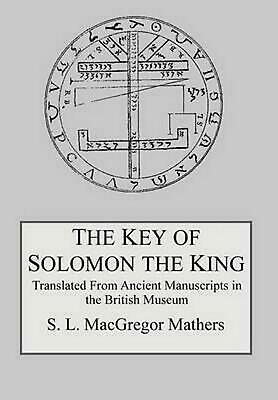 The Key of Solomon the King by S.L. MacGregor Mathers (English) Hardcover Book F