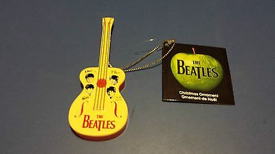 Beatles Figural Guitar Ornament From 2015 - Kurt Adler (Apple Tag Attached)