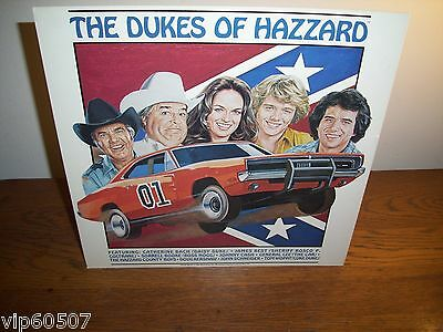 """Rare Promotional Advertising Poster For """"the Dukes Of Hazzard"""" Record Album-1981"""