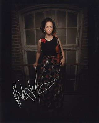 Hilary Hahn - American Violinist - Authentic Autographed 8x10 Photograph