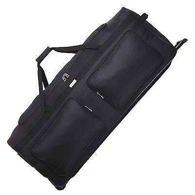 XL Extra Large 40 Inch Travel Wheeled Holdall Luggage Trolley Suitcase Bag Case