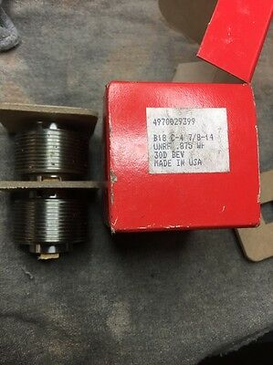 SET OF REED B18 C-4 THREAD ROLLING DIES 7/8-14 UNRF .875WF Free Shipping N