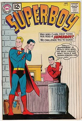 Superboy #94 strict VF/NM 9.0 High-Grade   100s of Supe's up for grabs now