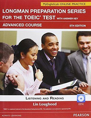 Longman Prep Series for the TOEIC Test Listening and Reading Adv SB w CD-ROM AK