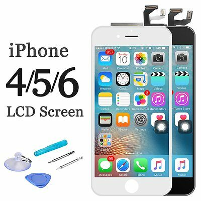 LCD Display Front Screen Replacement Digitizer for iPhone 4 4S 5S 6 6S 6 PLUS