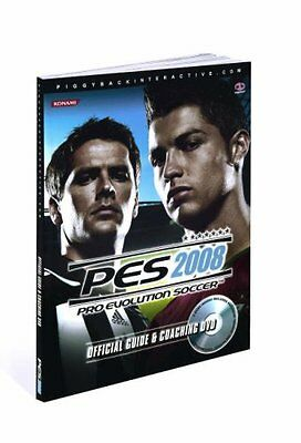 PES 2008 Official Guide and Coaching DVD Nicolas Decerf James Price Anglais