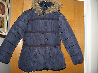 Next Girls Padded Winter Coat,age 9-10