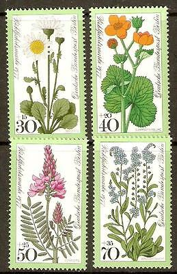 Germany Sgb540/3 1977 Relief Fund Meadow  Flowers Mnh