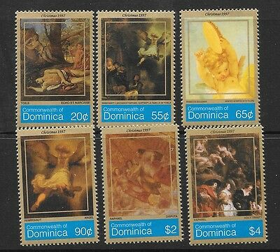 Dominica Sg2397/402 1997 Christmas  Mnh
