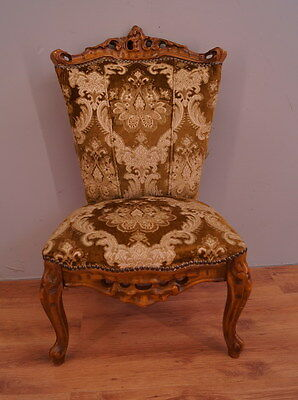 1010 !! Vintage French Armchair In Louis Xv Style !!
