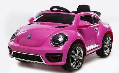 Beetle Style Kids Battery Electric Ride on Car 12v Sports Car with Remote