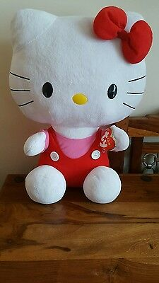 """Ty Hello Kitty Large Clasisic  18""""  Inch  Brand New"""