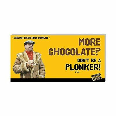 Only Fools and Horses More Chocolate? Don't Be A Plonker! Chocolate Bar