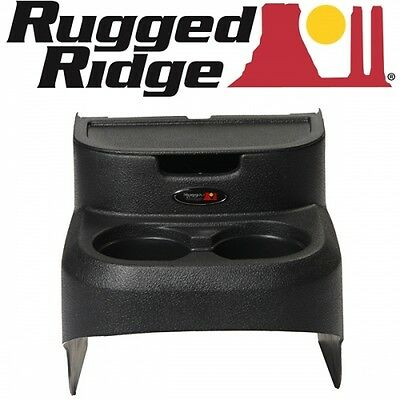 Jeep Wrangler JK 2-door Organizer Storage compartment Box rear with Cup Holder