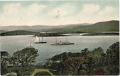 Old Postcard Bantry Bay Ireland Posted 1923