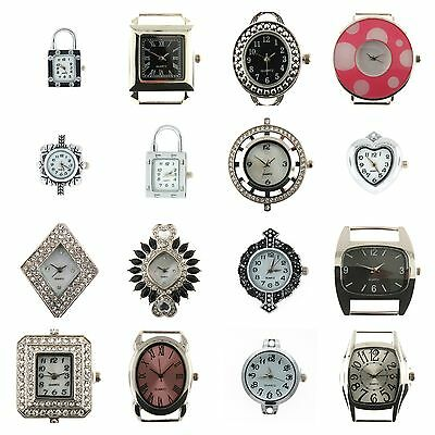 Watch Face for Beading Jewellery Making-Superior Quality ASSORTED 10 Watch Faces