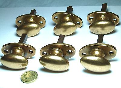 One X Quality Antique/vintage Small Oval Bronze Cabinet Door Handle Knob