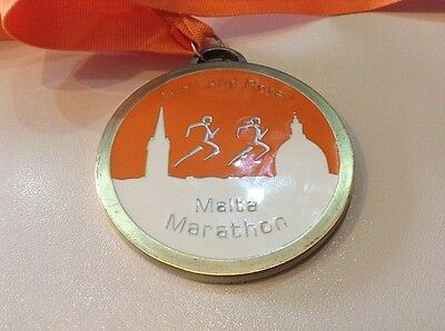 Malta Marathon Medal 2013 Lovely Item