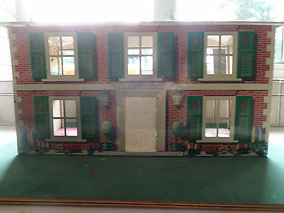 Vintage Tin Plate Mettoy Dolls House