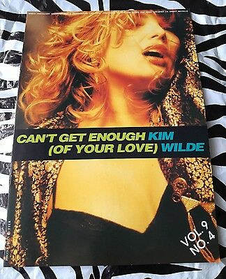 Kim Wilde Rare Fan Club Magazine