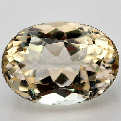 2.05 Ct. Excellent Natural Genuine Gem Oval Golden Yellow Beryl