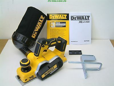 Dewalt Dcp580N 18V Xr Cordless Planer & Dust Collector Bag