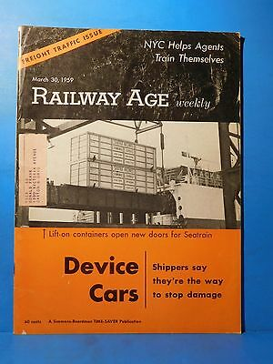 Railway Age Weekly 1959 March 30 Device Cars