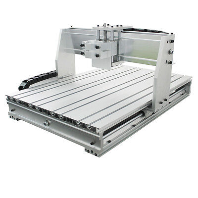 CNC 6040 1500W spindle engraving machine frame with Ball Screw drilling milling