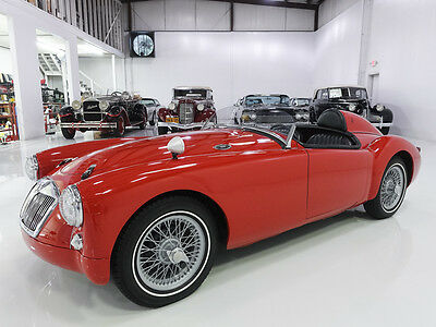 "1958 MG MGA ""Le Mans"" race car, stunning! 1958 MG MGA, RESTORED TO LOOK LIKE THE 1955 LEMANS MGA RACE CAR!"
