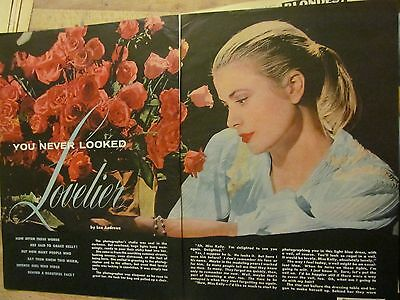 Grace Kelly, Three Page Vintage Clipping