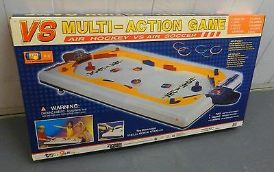 VS Multi-Action Air Hockey vs Air Soccer table game