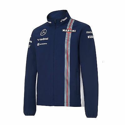 Official Williams Martini Racing 2016 Hackett Team Soft Shell Jacket Large