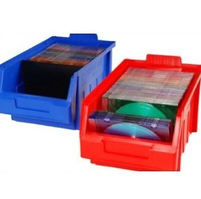 PLASTIC STACKING PARTS  STORAGE BINS SIZE 4 LARGE 290mmL x178mmW x 143mmH