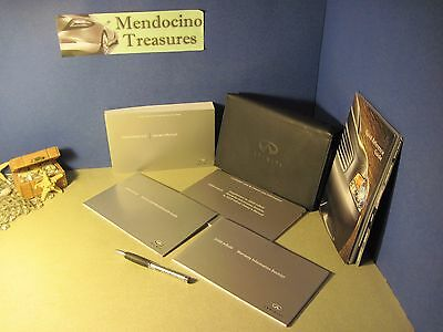 """2009 Infiniti G37 Sedan Owners Manual Package And Case With """"free U.s. Shipping"""""""