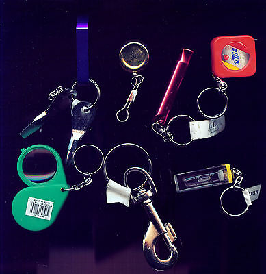 Wholesale 115 Key Chains ( Levels, Tape Measures, Mag. Glass, Misc) (3G542)