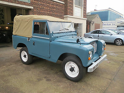 Land Rover Series 3 Soft Top 1977 Diesel Swb Marine Blue Low Mileage