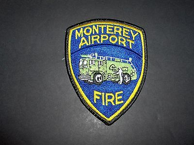 California - Monterey Airport Fire Department Cloth-Back Patch
