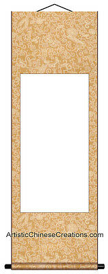Blank Chinese Wall Scroll Chinese Art Supplies Premium Quality Blank Scroll